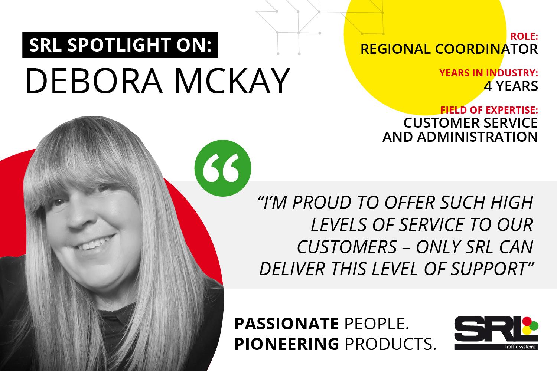 Shining the spotlight on Debora McKay