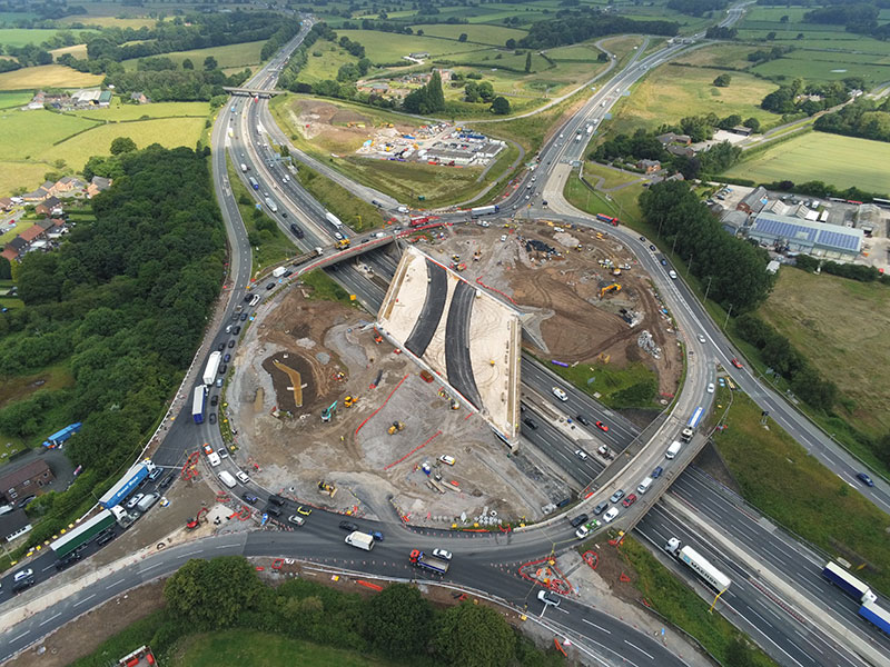 Urban64® reduces congestion and improves safety on landmark M6 junction improvement
