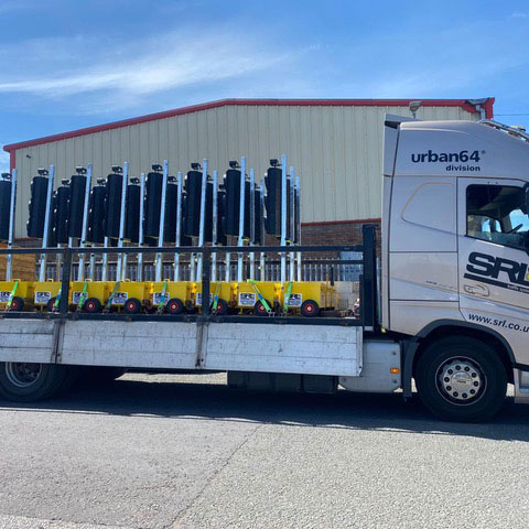 SRL Delivery Truck