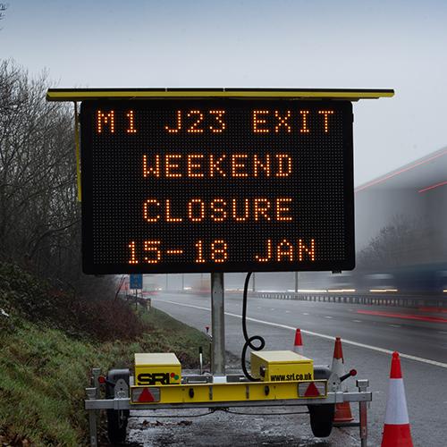 Smart Sign Roadside Message