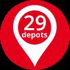 29 Depots