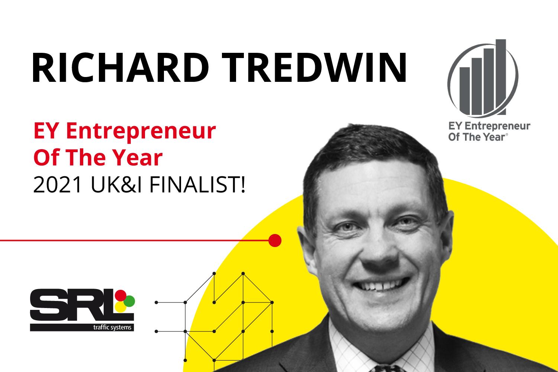 Richard Tredwin shortlisted for top entrepreneur award