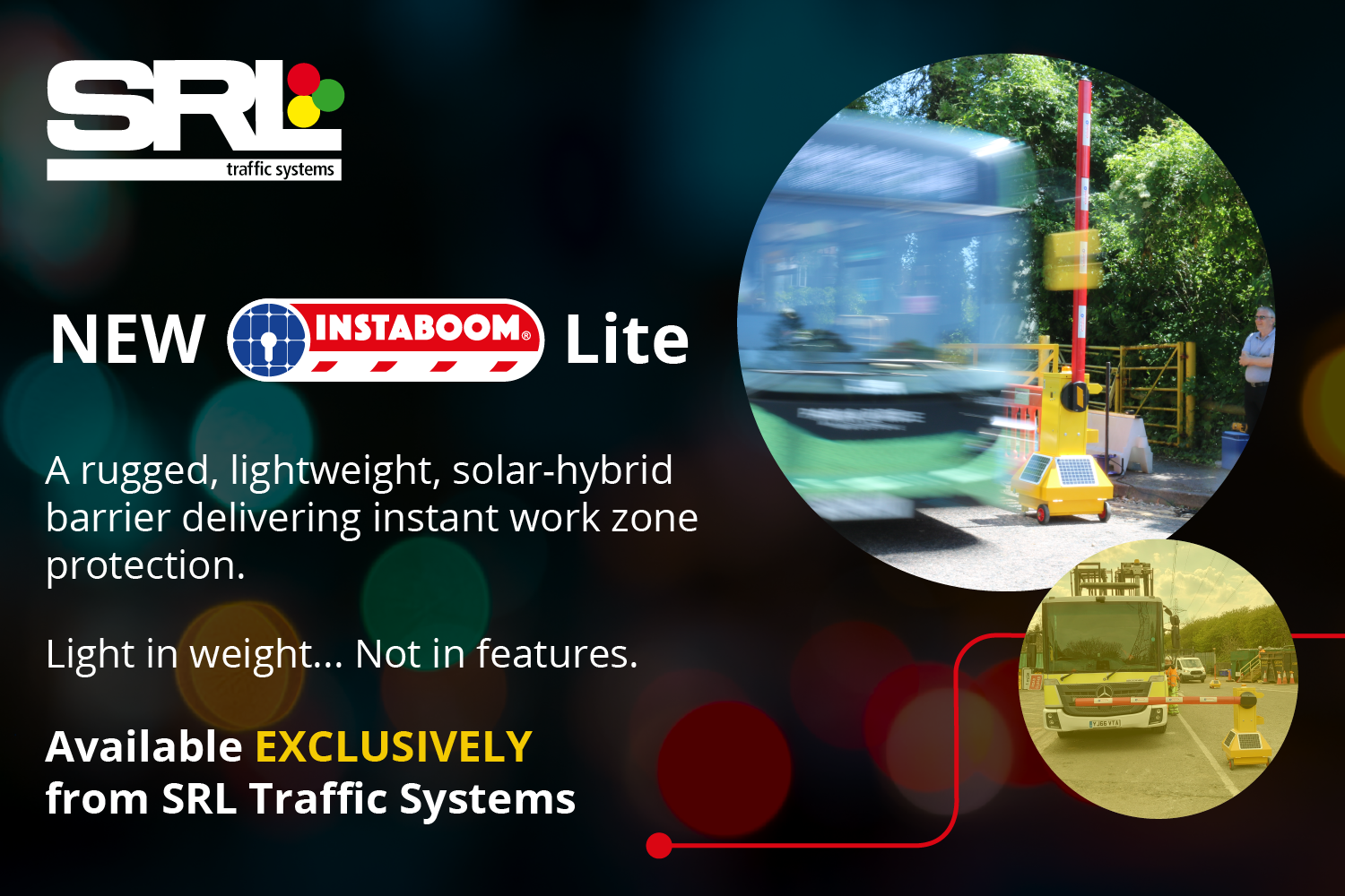 New Instaboom Lite now available for hire exclusively from SRL
