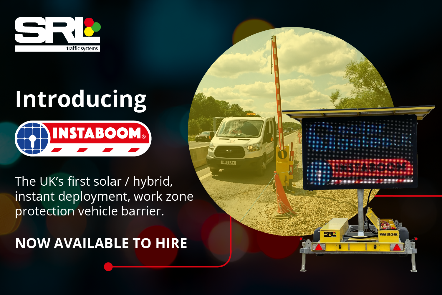 SRL takes delivery of innovative Instaboom, now available for hire