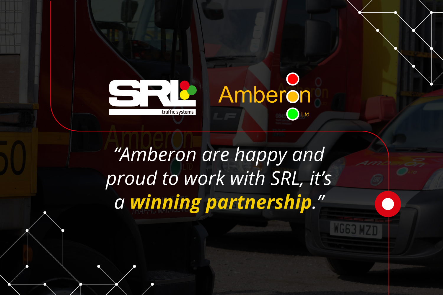 Amberon increases fleet with 40 more SRL traffic signals