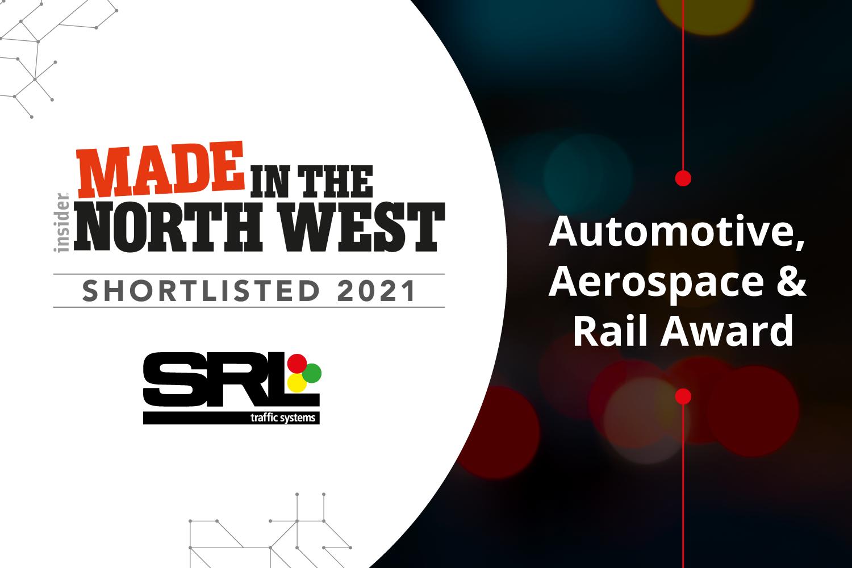 SRL shortlisted in major regional Manufacturing Awards