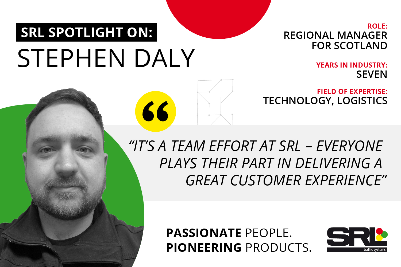 Shining the spotlight on Stephen Daly