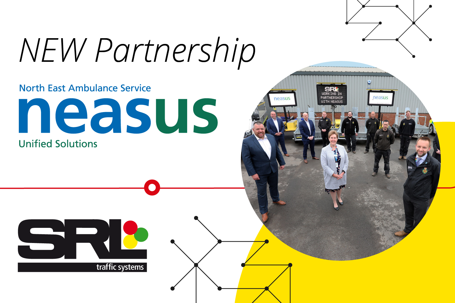 New partnership announced with NEASUS to service SRL's range of trailers