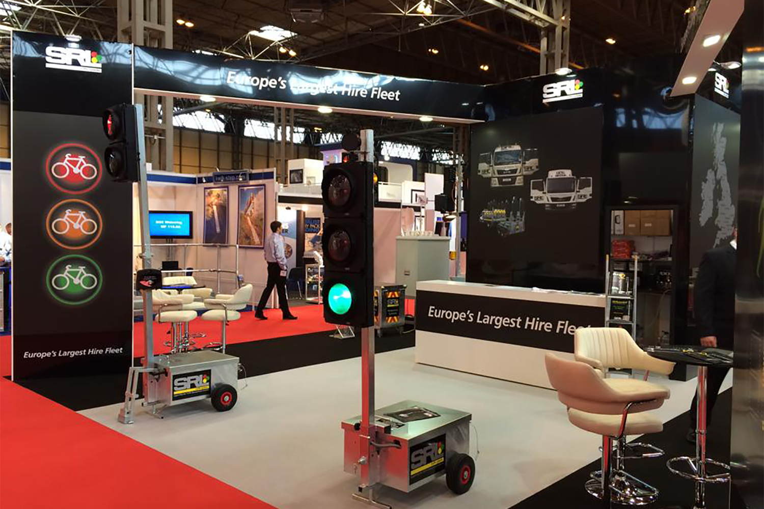 SRL Traffic Systems Exhibit At Traffex and Parkex 2015