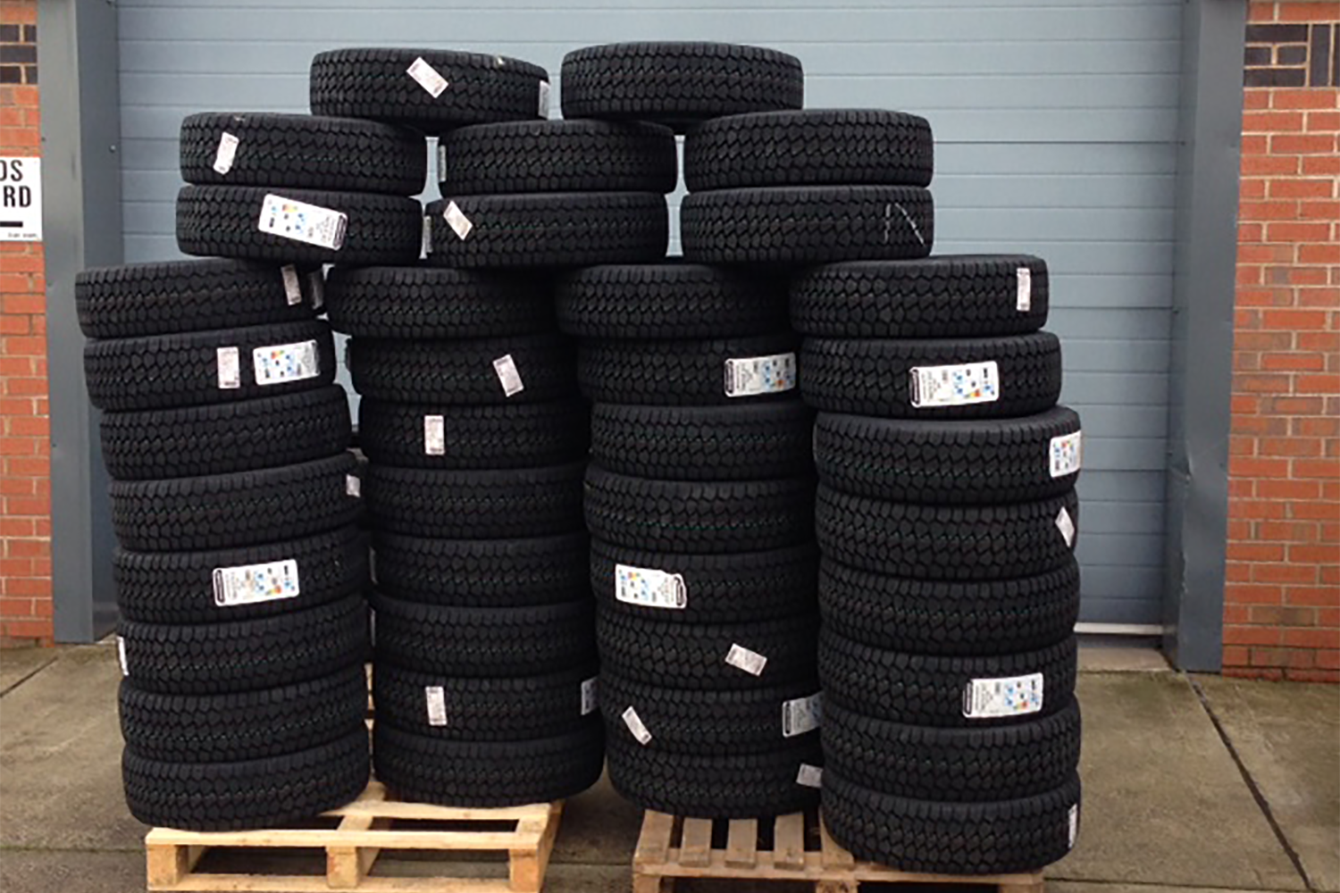 Stocking up on Winter Tyres