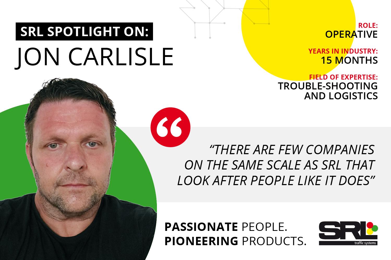 Shining the spotlight on Jon Carlisle